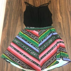 Aztec Skirt and Tank